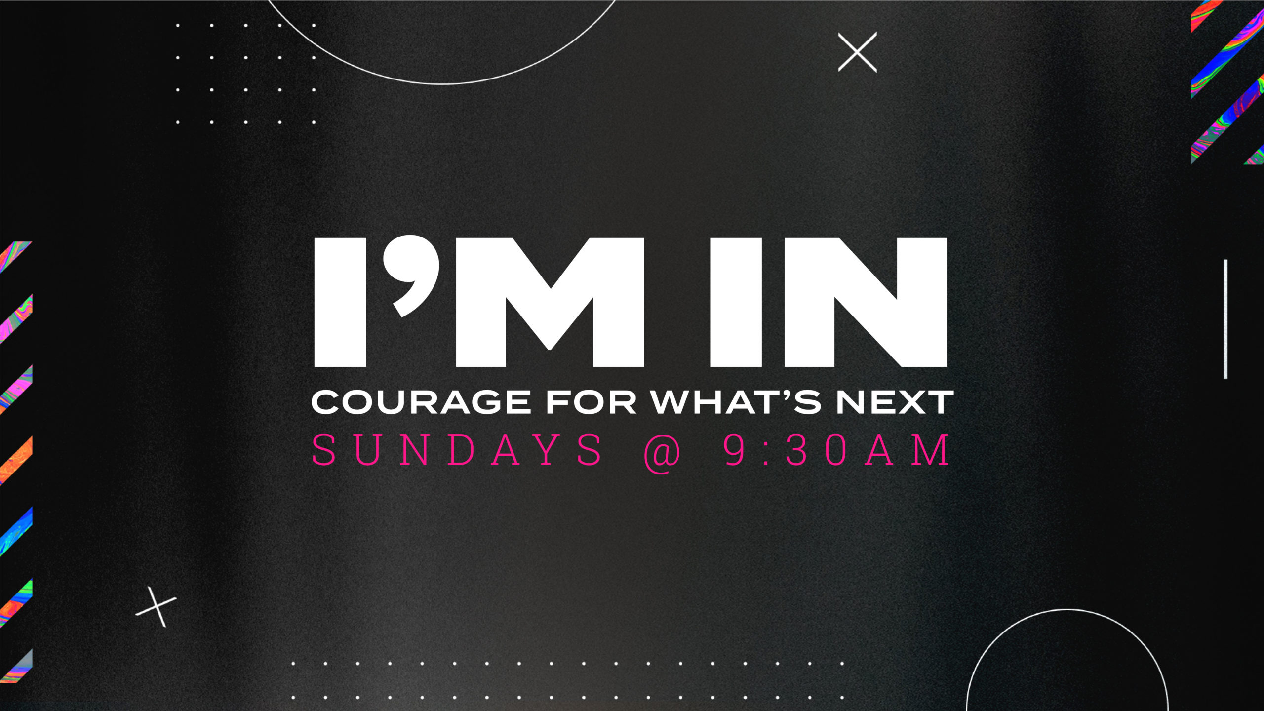 I'm In - Courage For What's Next